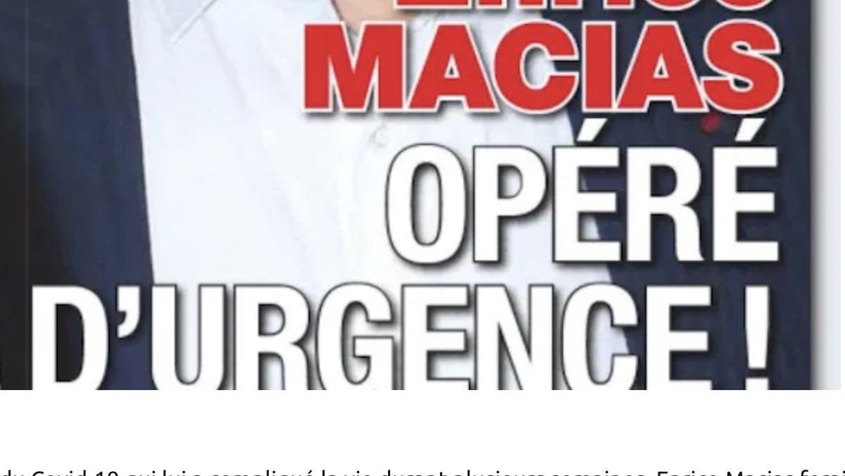 Enrico Macias hospitalisé