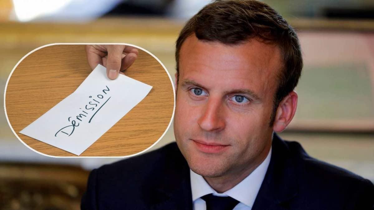 Affaire à suivre : Emmanuel Macron n'en peut plus, il va annoncer sa démission ?
