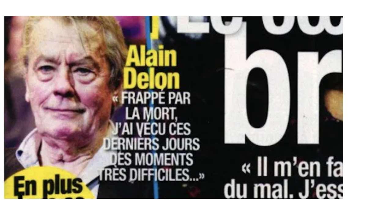 Alain Delon veut se suicider ? Révélation sur sa santé !