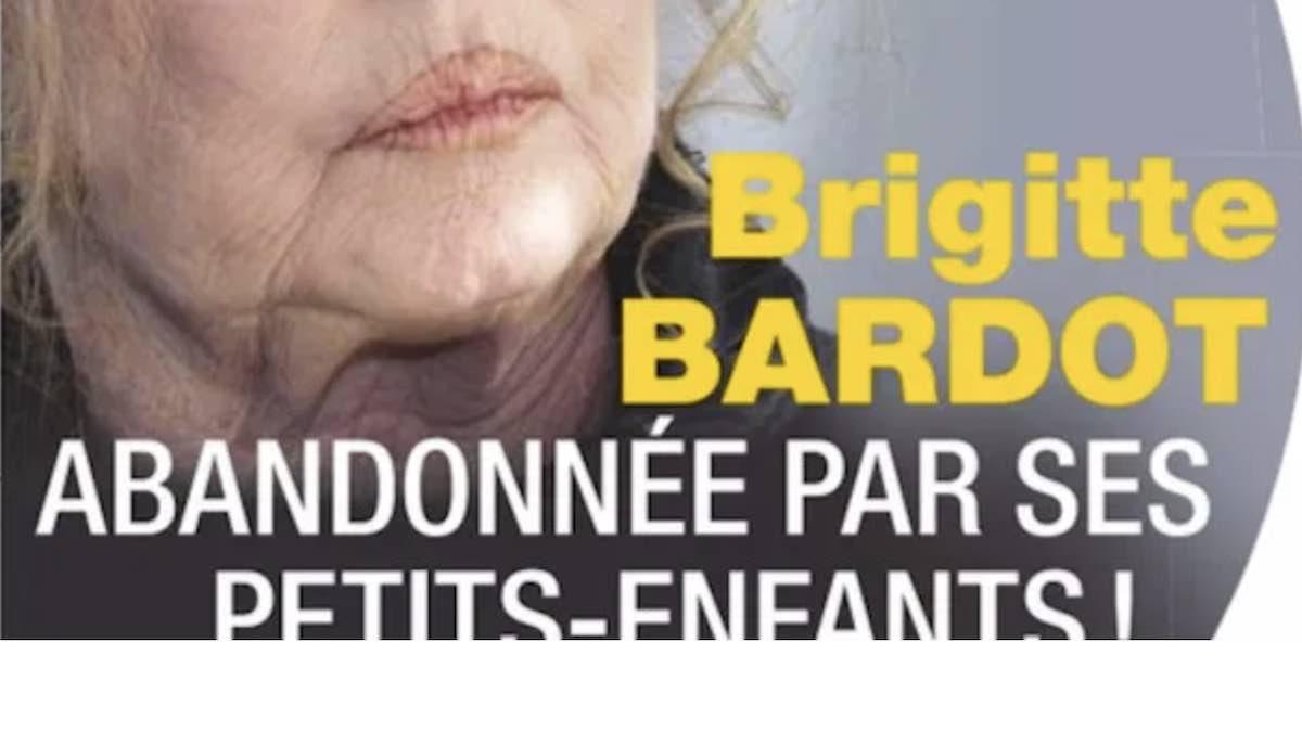 Brigitte Bardot abandonnée par ses petits-enfants, choc, folle de chagrin