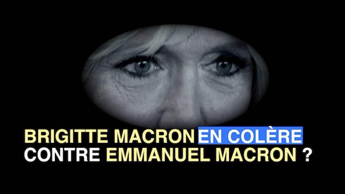 Brigitte Macron s'enflamme, elle crie à l'Elysée?