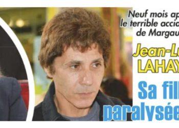Jean Luc Lahaye ému, ébranlé, sa fille ne marche plus