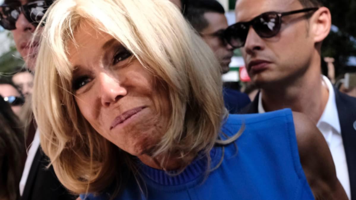 Brigitte Macron cause un grand problème à l'Elysée.