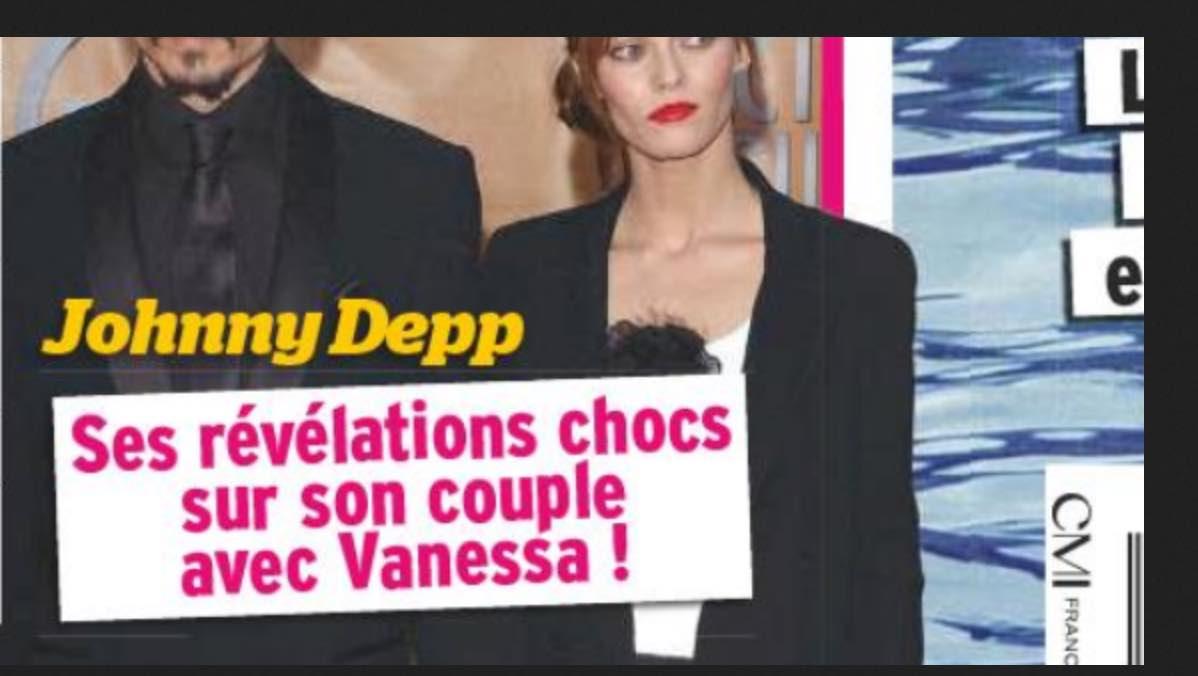 Johnny Depp a battu Vanessa Paradis ? Révélations scandaleuse sur le couple !
