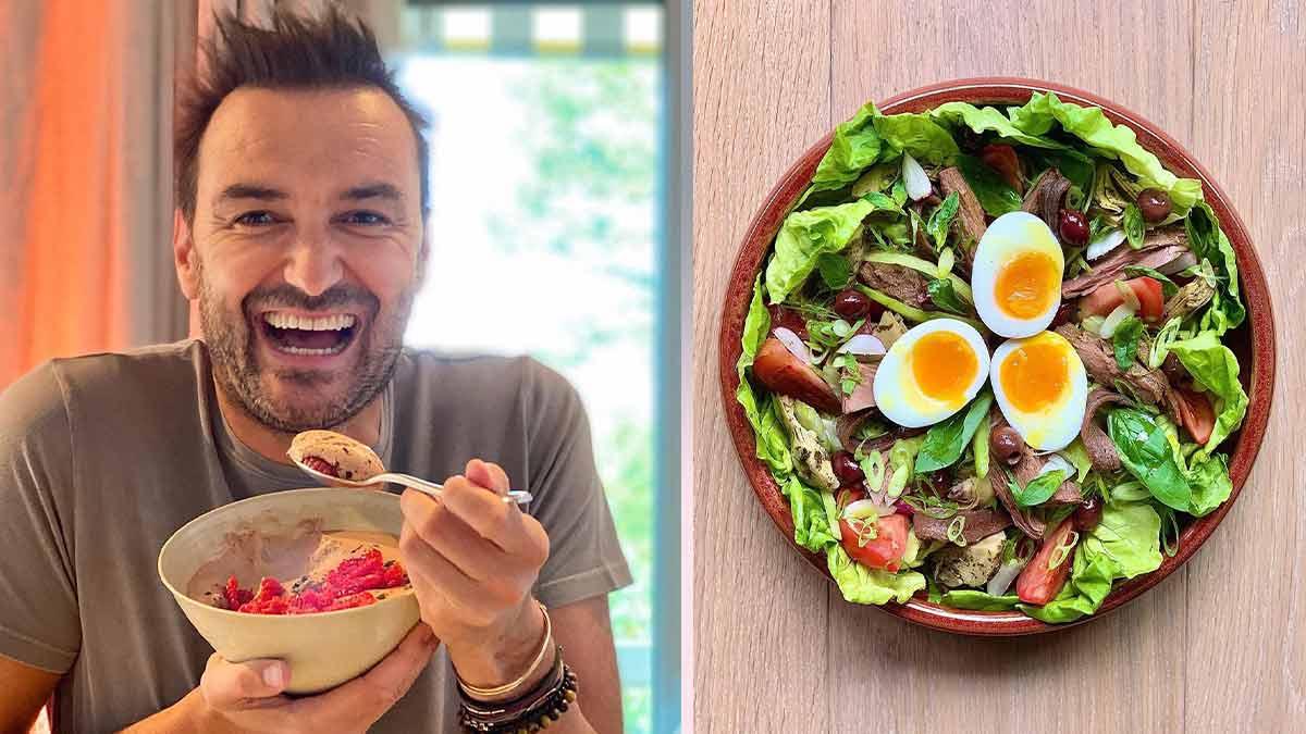 Cyril Lignac : réplique en direct à la polémique concernant sa salade niçoise