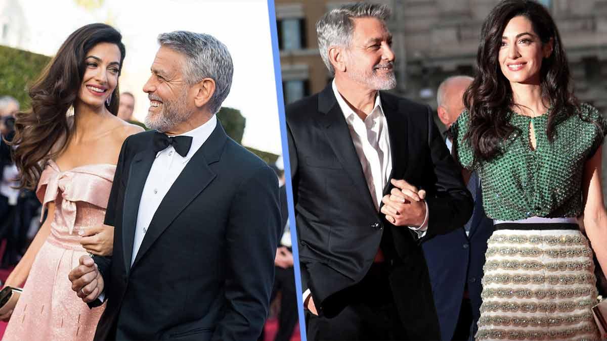 George et Amal Clooney — vivent séparément — une ex bascule toute leur vie!