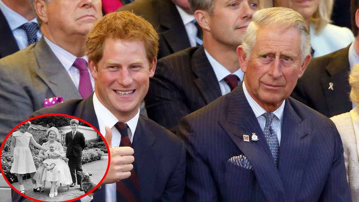 Le prince Harry portrait craché de son père : une photo refait surface