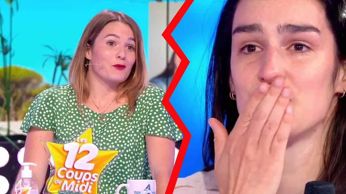 Caroline «Les 12 Coups de midi» : en larme à cause de son cadeau de départ offert par Zette après son élimination