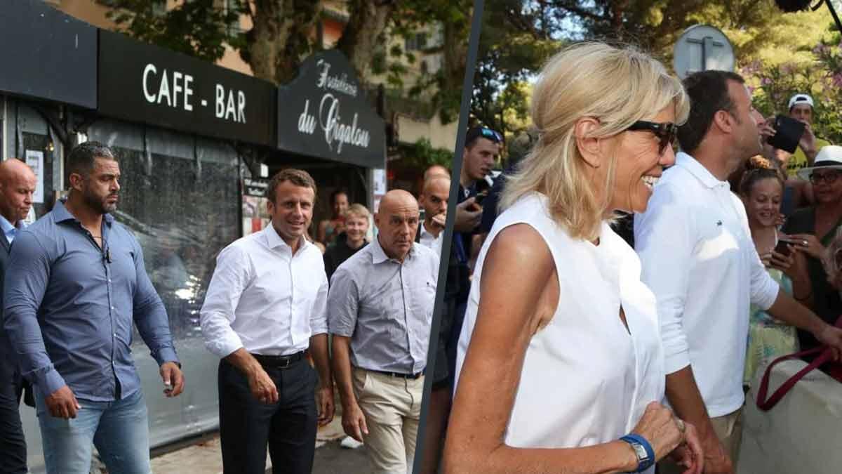 Brigitte et Emmanuel Macron en tête à tête ! « De la Pizza » pour le dîner !