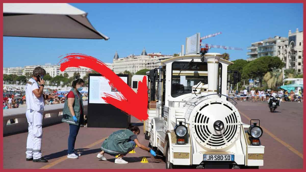 Cannes : un enfant de 18 mois est mort ! Un choc mortel avec un petit train !