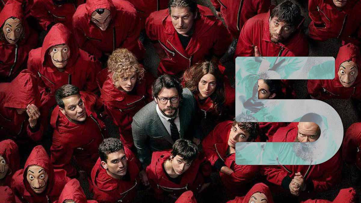 La Casa de Papel (Netflix) : la saison 5 sera la toute dernière de la série!