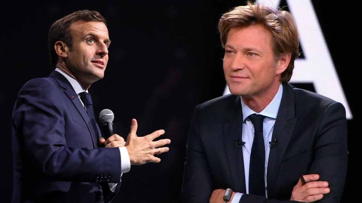 Laurent Delahousse : fréquentait le même lycée qu'Emmanuel Macron