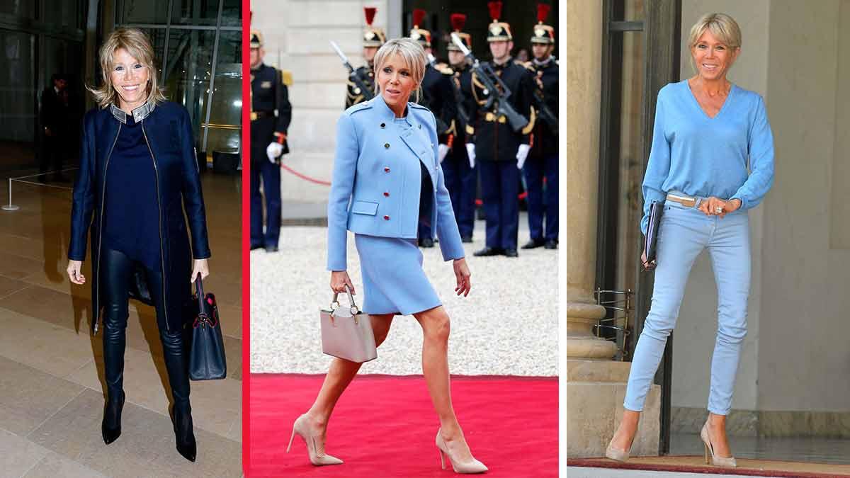 Minute Mode : Brigitte Macron vole la vedette dès son arrivée à l'Elysée ! Découvrez ses petites astuces