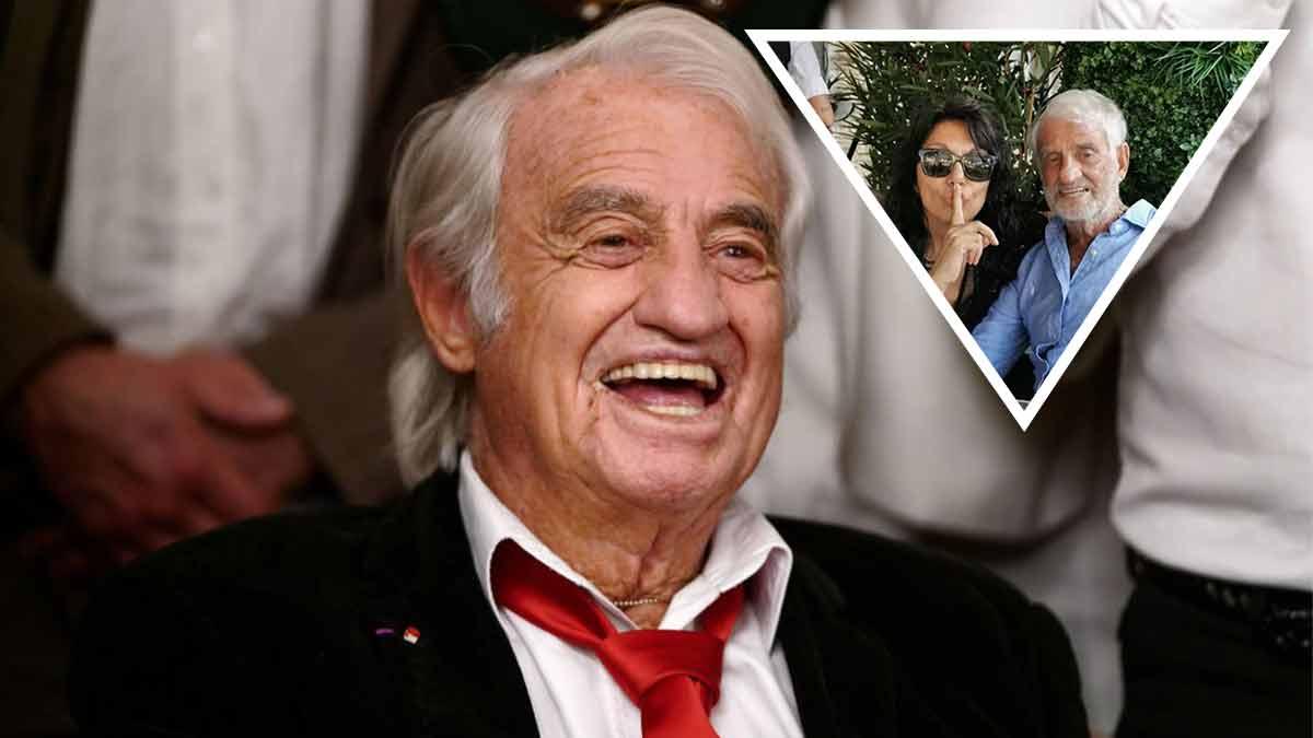 PHOTO INEDITE : Jean Paul Belmondo en couple ? Découvrez l'identité de sa compagne !