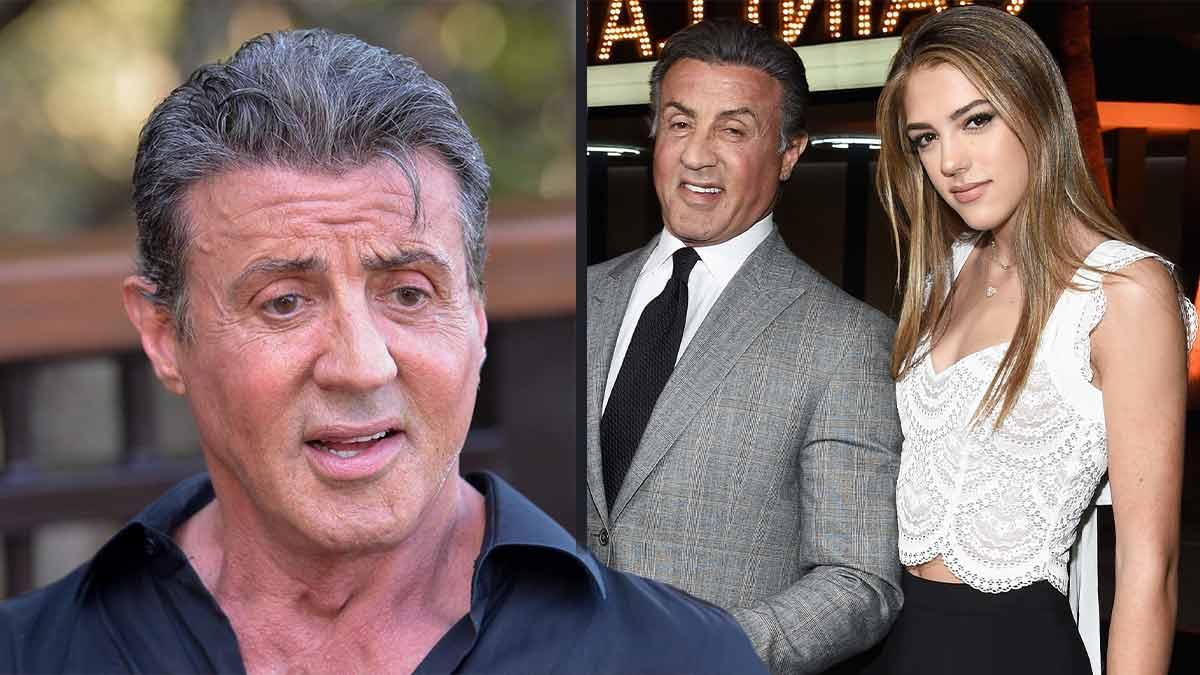 Sylevester Stallone gêné ? Sistine, sa fille est nue sur les plages !