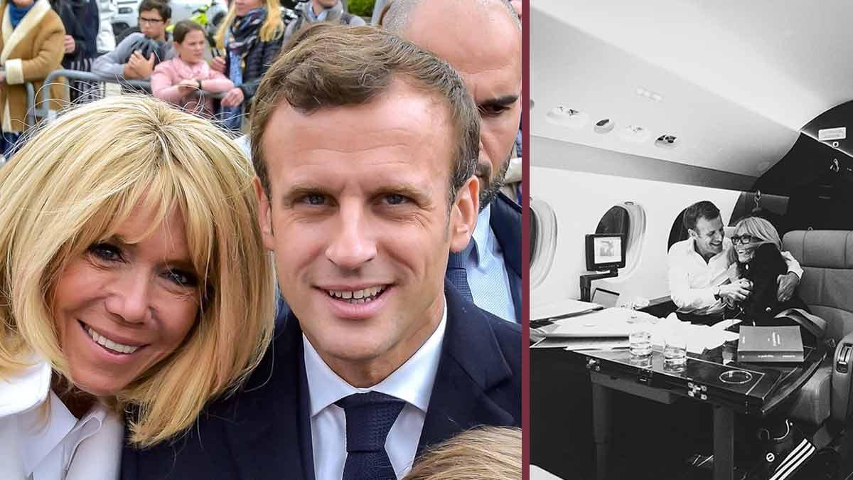 Brigitte et Emmanuel Macron : très amoureux, ce geste de complicité qui fait fondre les internautes