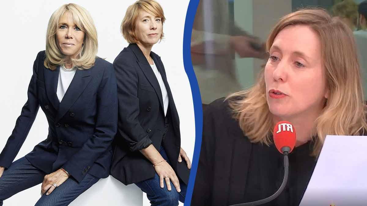 """Andréa Bescond admire Brigitte Macron, """"c'est une personne formidable"""""""
