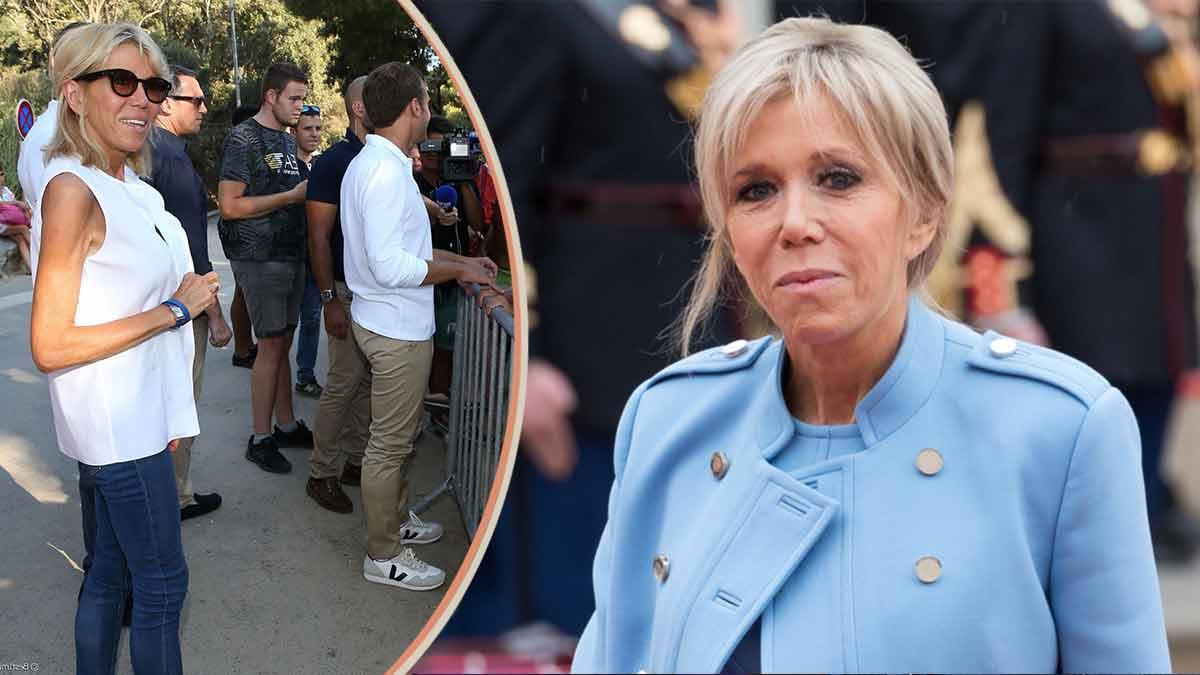 Brigitte Macron échappe de justesse à la mort à Fort de Brégançon