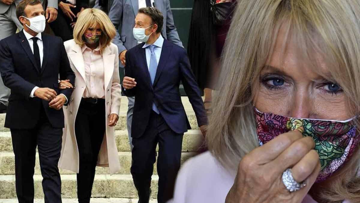 Brigitte Macron: un rare cliché intime du couple présidentiel dévoilé au grand jour