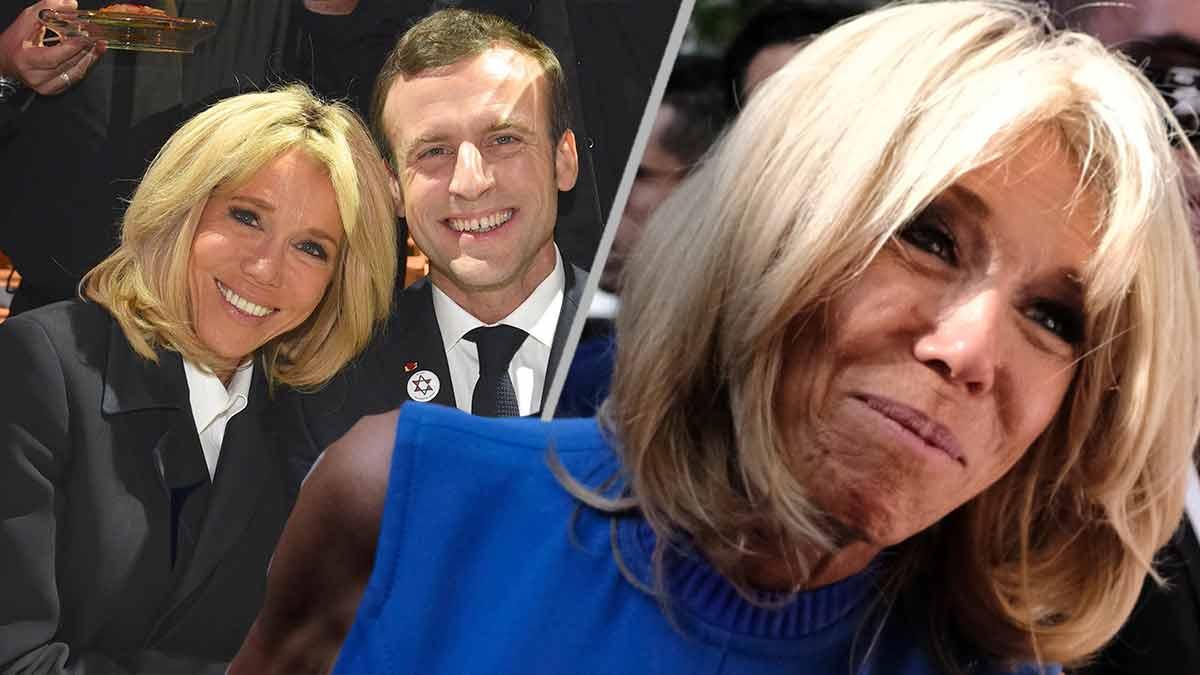Brigitte Macron, anéantie — Emmanuel Macron serait-il attiré par une jeune femme?