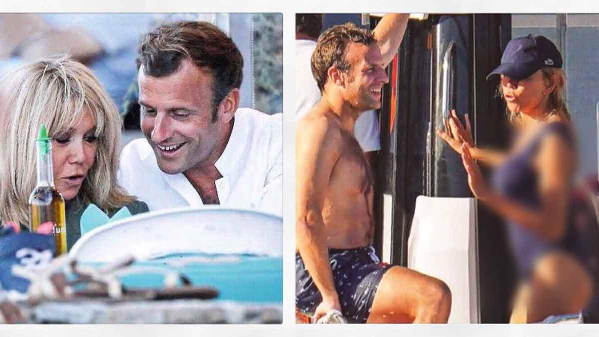 Brigitte Macron : sublimissime en maillot, la première dame met le feu à la toile