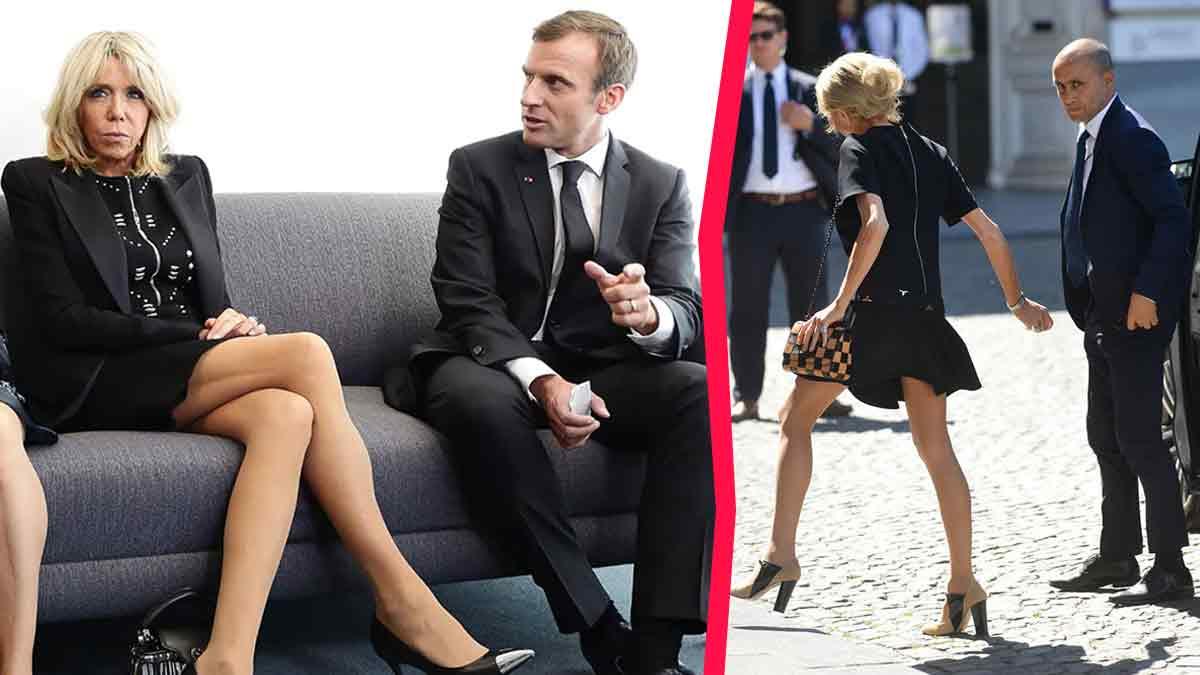 Brigitte Macron laisse entrevoir ses sous-vêtements partout, elle choque de nombreuses personnes