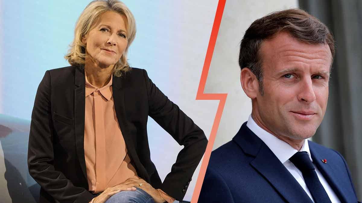 Claire Chazal: sa relation secrète avec Emmanuel Macron