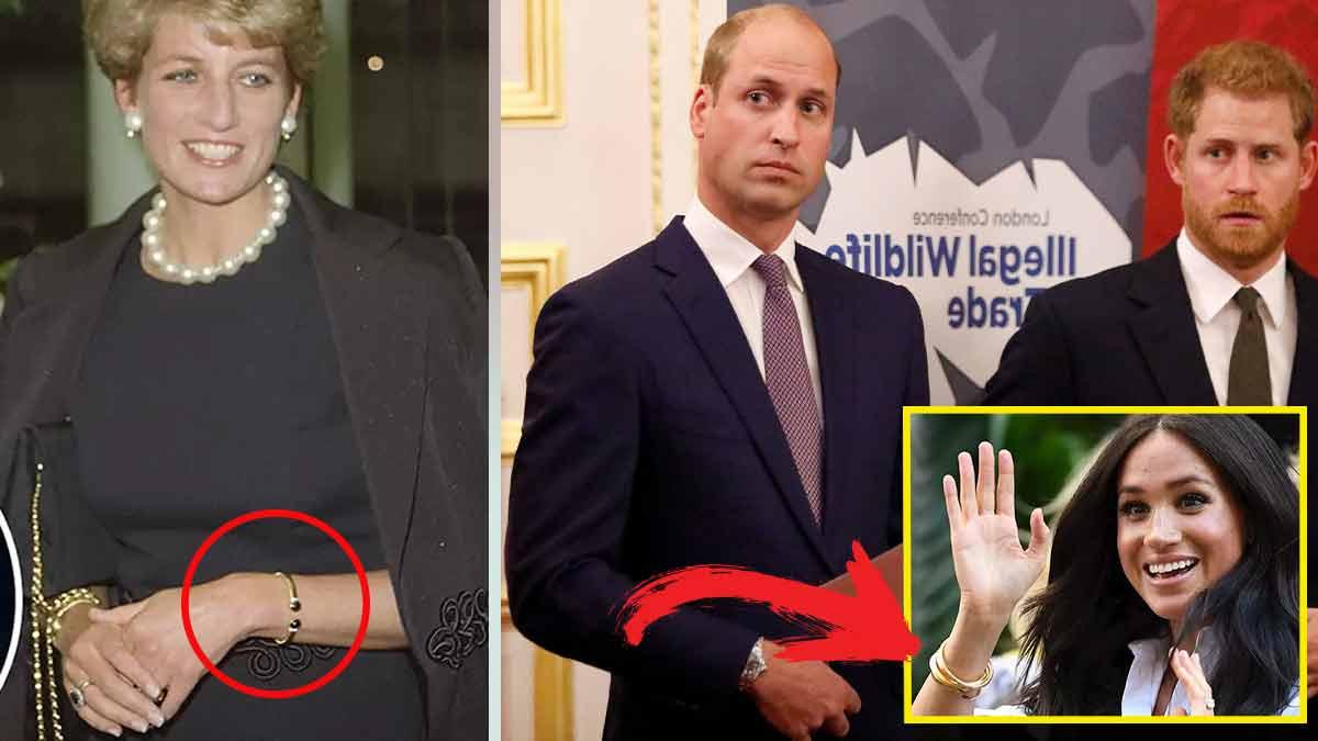 La guerre est déclarée au sein de la famille royale — une montre de Lady Diana volée par Meghan Markle!