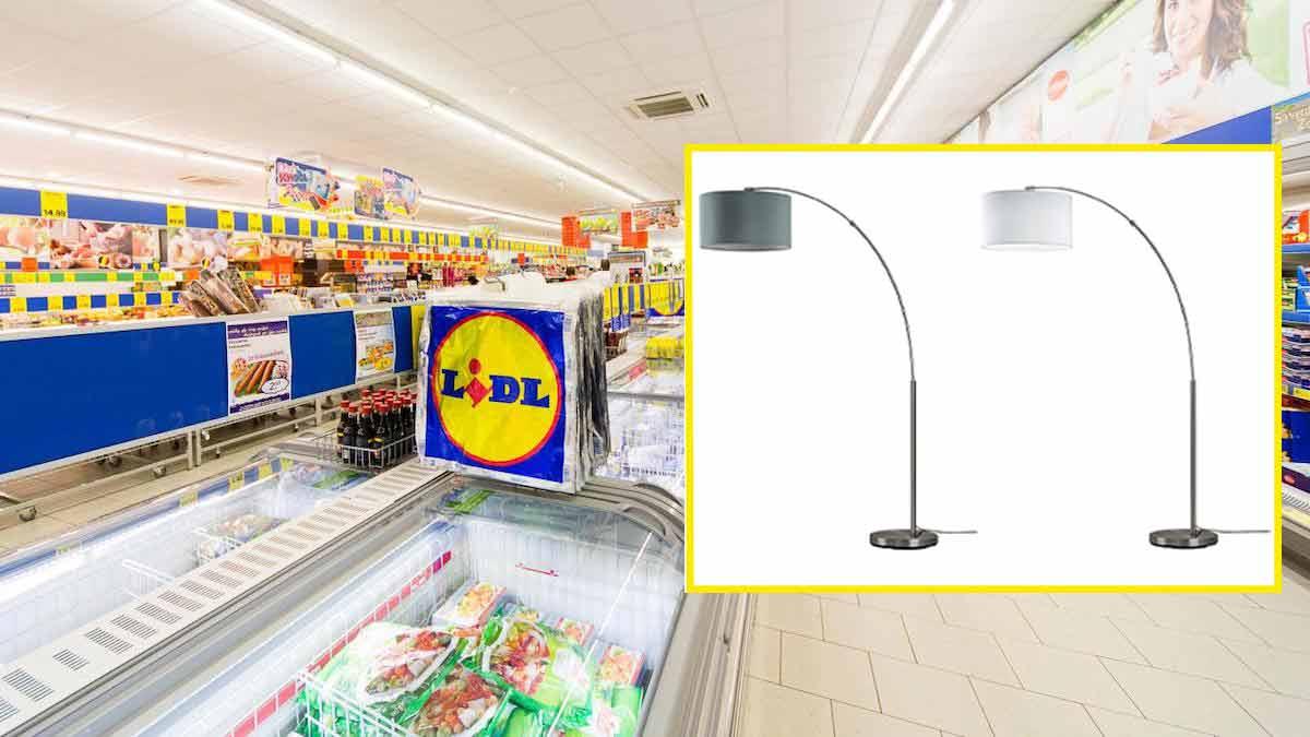Lidl : propose un lampadaire ultra-design à un prix discount