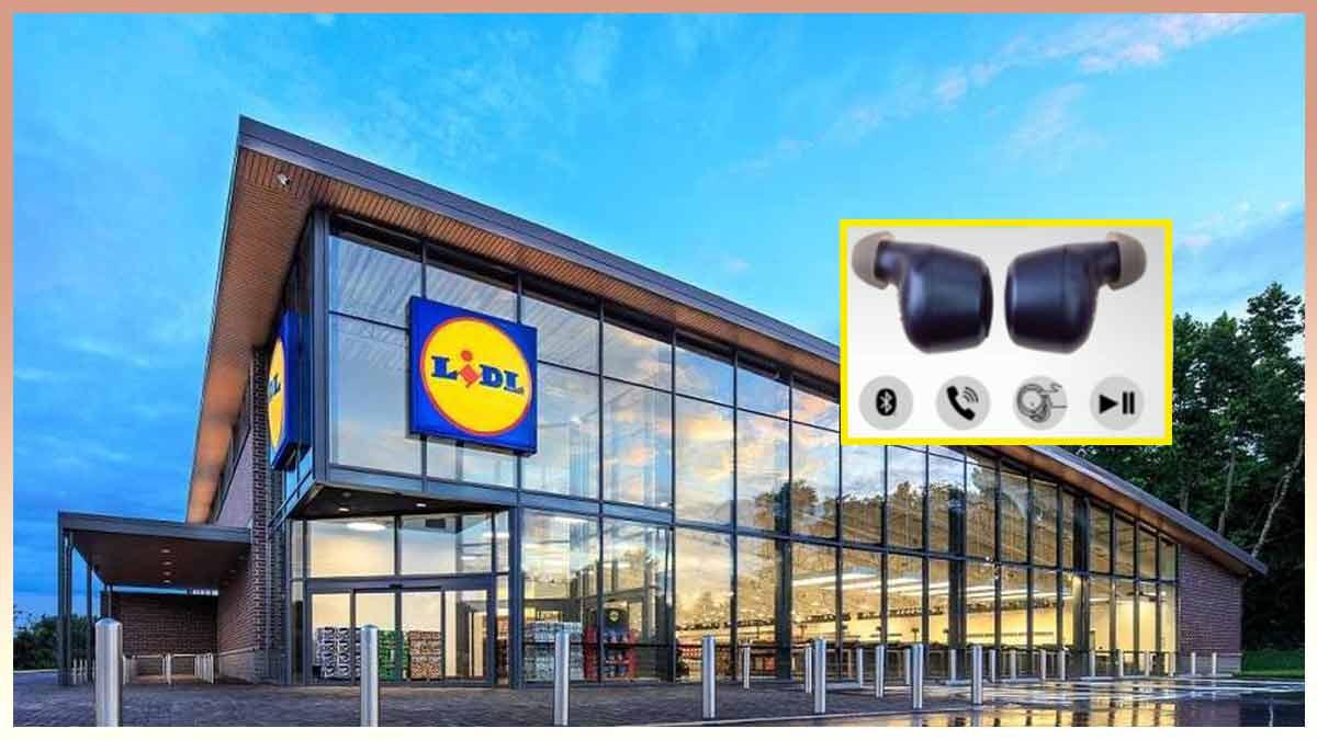 Lidl, un écouteur sans fil à moins de 20 euros qui fait concurrence à Apple — il va faire ravage!