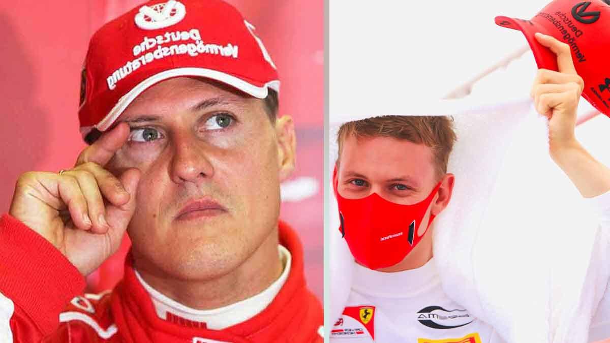 Michael Schumacher: son fils lui ressemble trait pour trait, un cliché qui a étonné la toile