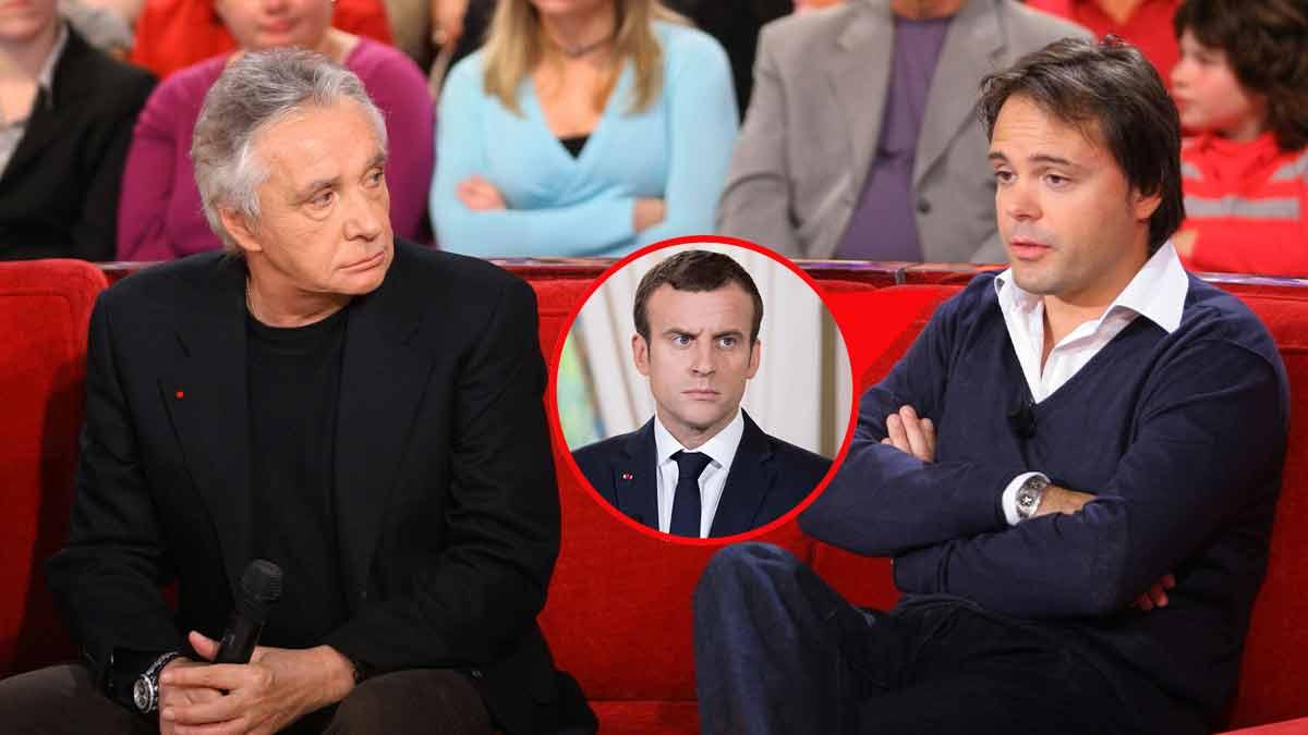Michel Sardou, son fils «pète les câbles» et s'en prend violemment à Emmanuel Macron!