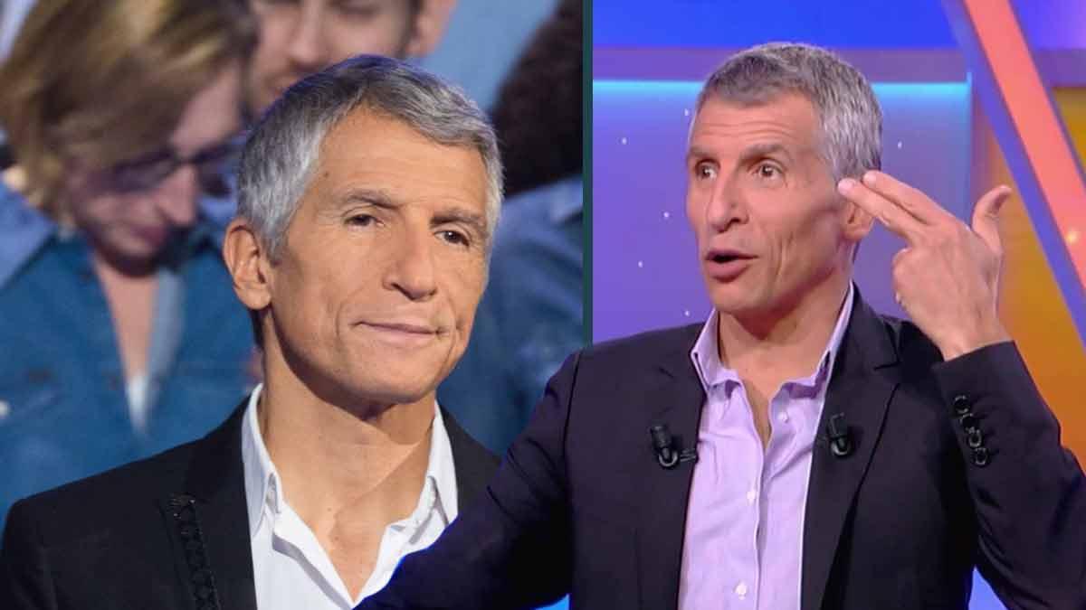 Nagui (Tout le monde veut prendre sa place) : mécontenté par un candidat pendant l'émission