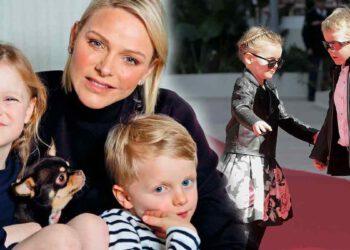 Charlène de Monaco dévoile un adorable cliché des jumeaux!