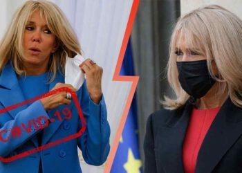Covid-19 : Brigitte Macron cas contact, elle se met en quarantaine pendant 7 jours