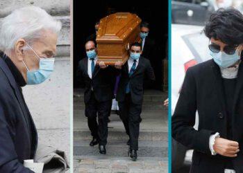 Obsèques de Gérard Idoux: Bernard Tapie très affaibli, il fait le déplacement