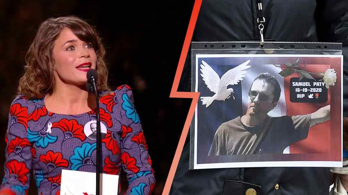 Blanche Gardin: victime de vives critiques sur la toile, sa plaisanterie sur Samuel Paty qui ne passe pas