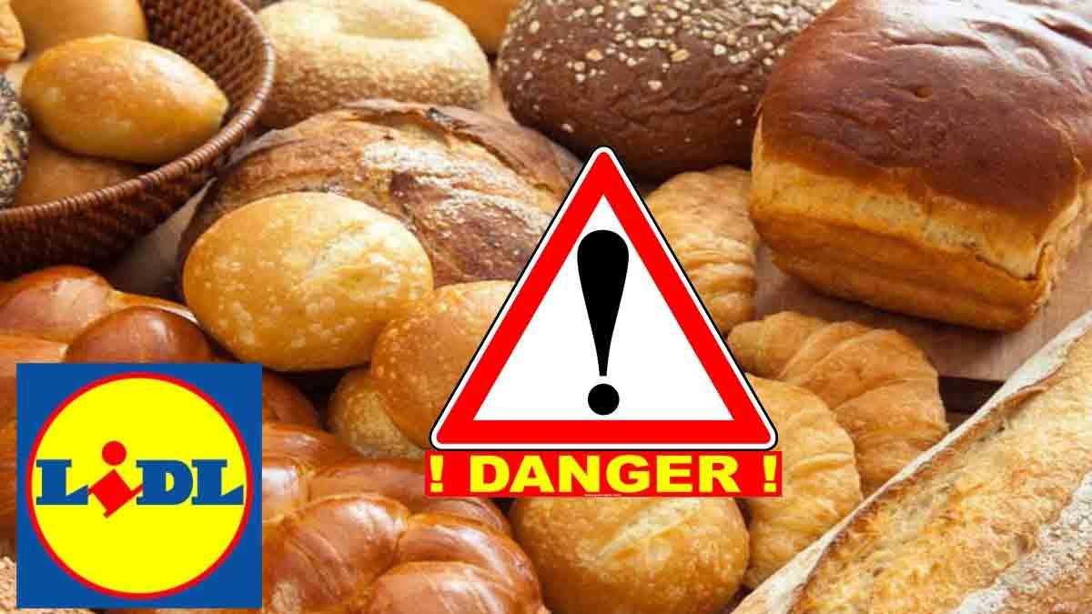 Urgents: Lidl et Auchan rappellent ses pains, brioches et biscuits qui sont dangereux pour la santé! Ramenez-les immédiatement!