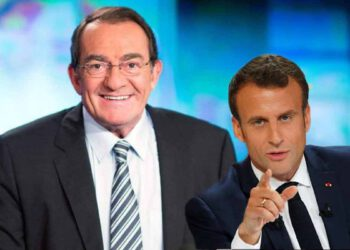 Jean-Pierre Pernaut: ce gros lapsus en plein JT qui ne va pas du tout plaire à Emmanuel Macron