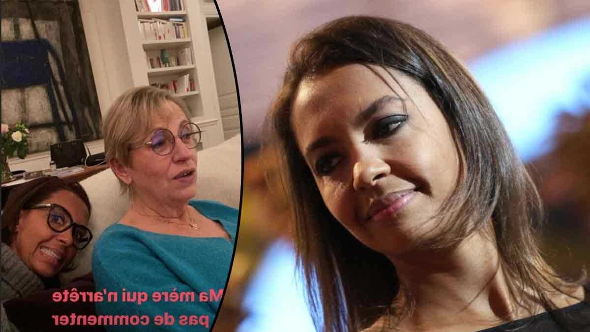 Karine Le Marchand : dévoile pour la première fois une photo d'elle en compagnie de sa mère