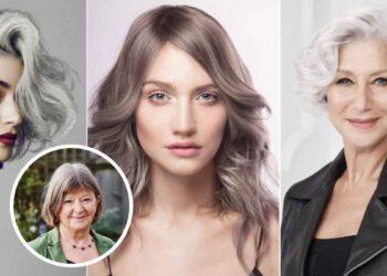 Astuces beautés : trois coiffures pour mettre en valeur vos cheveux blancs